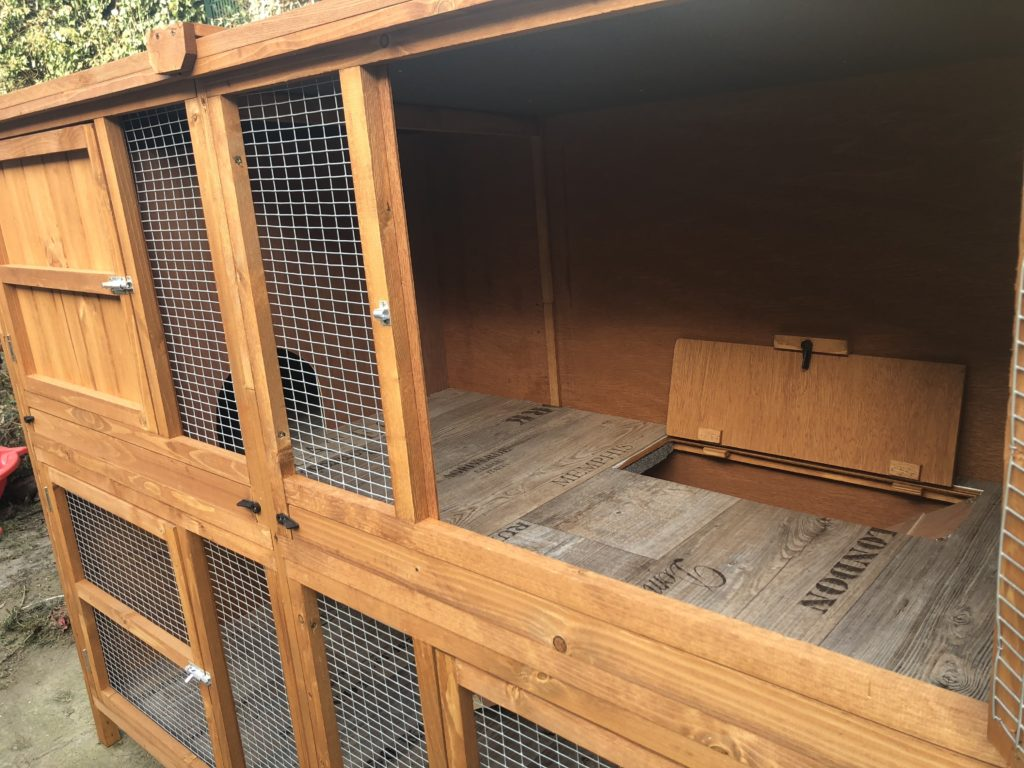 PVC im Kaninchenstall Stall