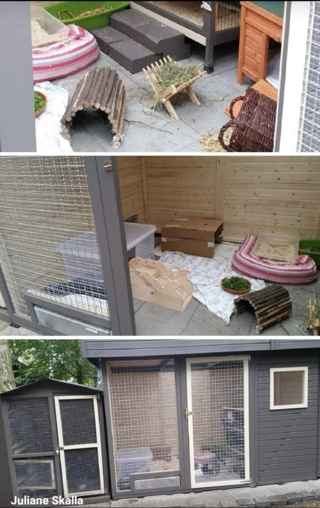 Stall für Kaninchen Kaninchenstall